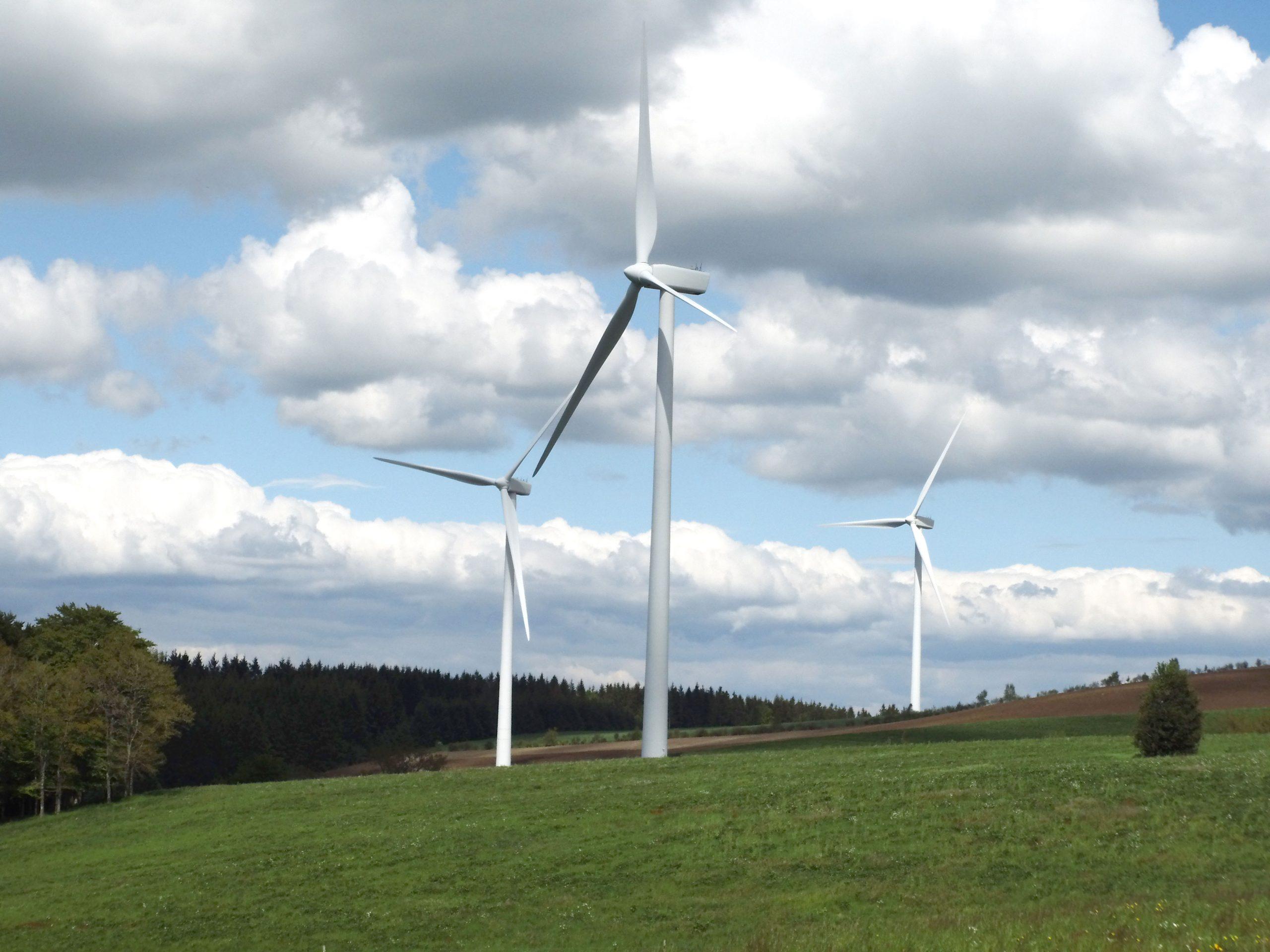 Éoliennes - Lévézou Pareloup