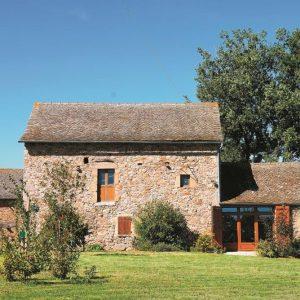 Maison en pierre en Aveyron