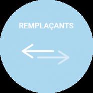 pastille remplacement